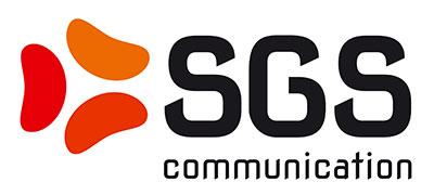 Risultati immagini per SGS COMMUNICATION LOGO